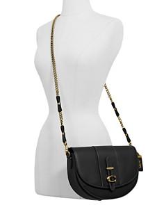 COACH - 1941 Leather Crossbody Saddle Bag