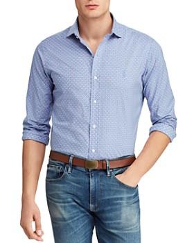 7cf090ee96f83 Polo Ralph Lauren - Crest-Print Slim Fit Shirt ...