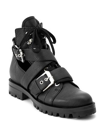 Dolce Vita - Women's Preia Cutout Leather Ankle Boots