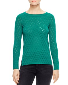 Sandro - Anabelle Pointelle Sweater