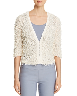 Nic And Zoe Tops NIC+ZOE TEXTURED CROPPED CARDIGAN