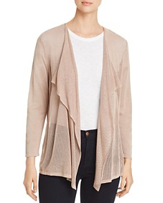 Avec - Lightweight Mixed-Knit Cardigan