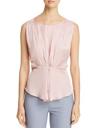 NIC and ZOE - Destination Cinched Sleeveless Top