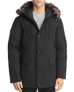 Superdry Rookie Faux Fur-Trimmed Puffer Parka