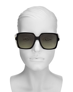 Gucci - Women's Web Oversized Square Sunglasses, 56mm
