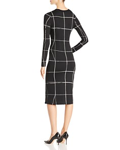 BOSS - Esetta Windowpane Check Dress