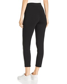 Eileen Fisher Petites - Side-Stripe Cropped Leggings