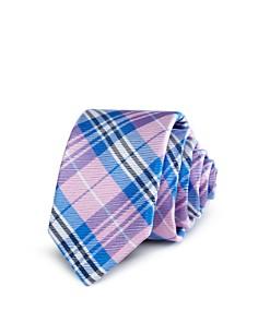 Michael Kors - Boys' Madras-Plaid Silk Classic Tie