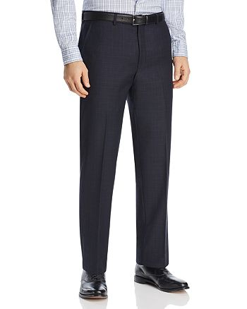 Michael Kors - Tonal Plaid with Windowpane Classic Fit Suit Pants