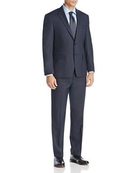Michael Kors - Mélange Birdseye Classic Fit Suit Separates