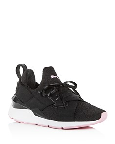 PUMA - Women's Muse TZ Knit Low-Top Sneakers
