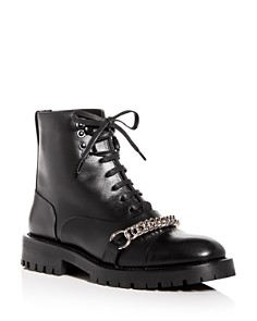 Burberry - Women's Barke Chain Combat Boots