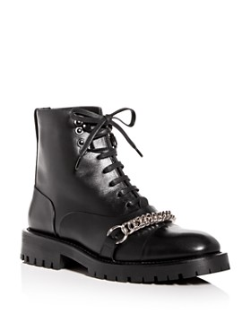 Burberry - Women's Barke Chain Combat Boots