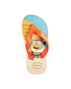 havaianas - Unisex Minion Flip-Flops - Toddler, Little Kid