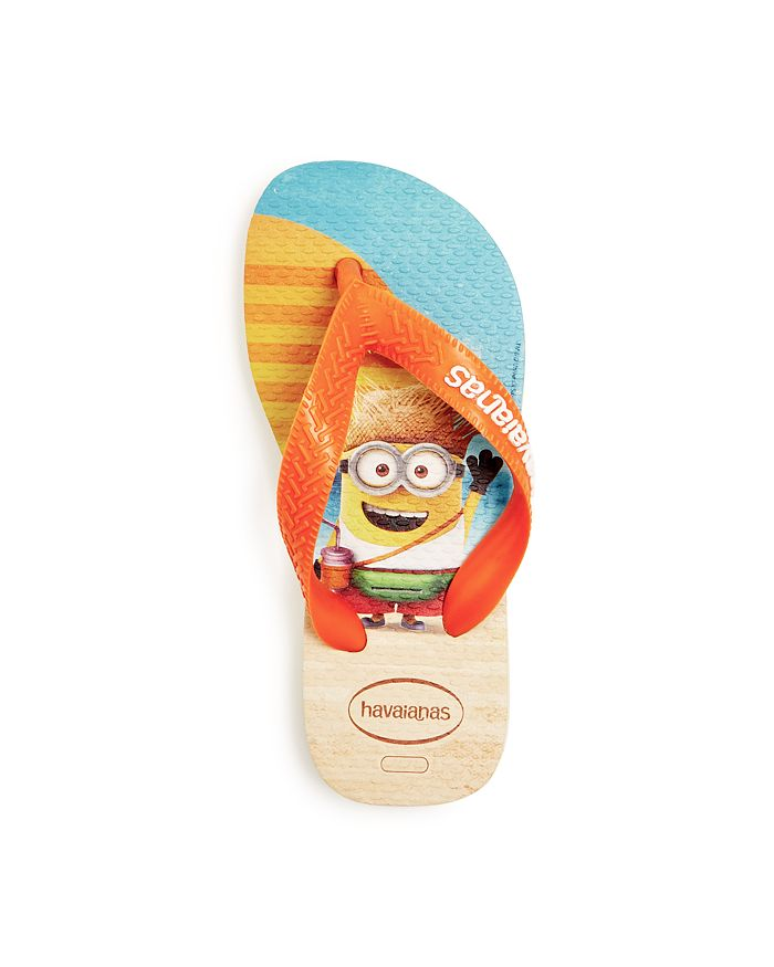 cc5523d4234 havaianas - Unisex Minion Flip-Flops - Toddler