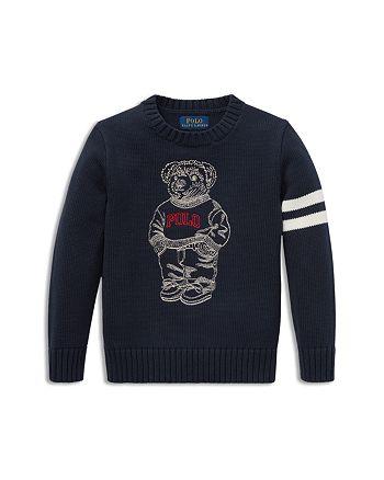 Ralph Lauren - Boys' Embroidered Polo-Bear Sweater - Little Kid
