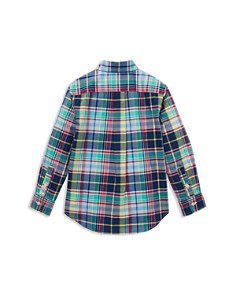 Ralph Lauren - Boys' Plaid Poplin Sport Shirt - Little Kid