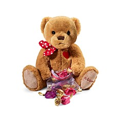 Godiva® - Chocolatier 2019 Limited Edition Plush Teddy Bear with Chocolate Carrés