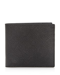 Smythson - Leather Bi-Fold Wallet