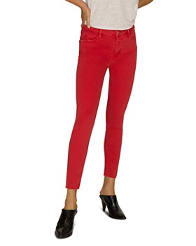 Sanctuary - Social Standard Ankle Skinny Jeans in California Poppy