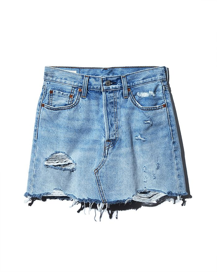 Levi's - Deconstructed Denim Skirt in What's The Damage