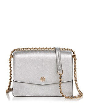 4085a5837c5 Tory Burch - Robinson Convertible Leather Shoulder Bag ...
