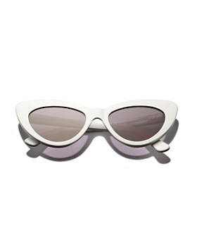 Illesteva - Women's Pamela Cat Eye Sunglasses, 53mm