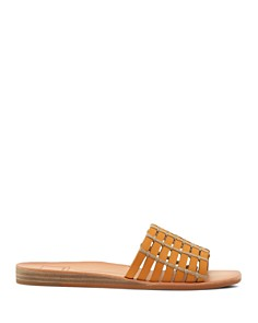 Dolce Vita - Women's Colsen Cage Leather Slide Sandals