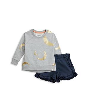 Sovereign Code Girls Briella  Chella Sweatshirt  RuffledShorts Set  Baby