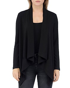 B Collection by Bobeau - Amie Draped Open Cardigan