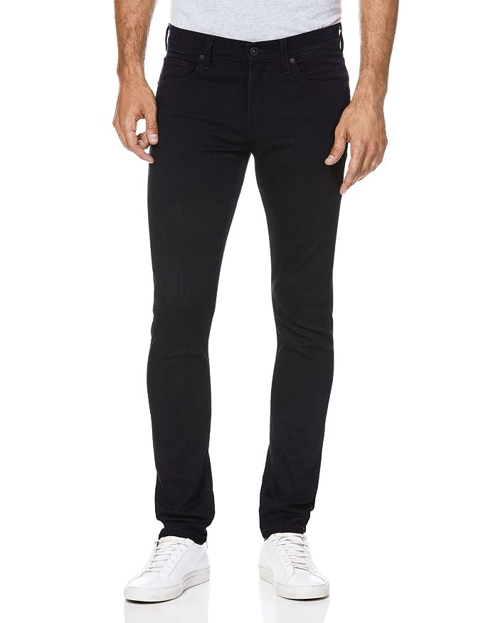 PAIGE - Croft Skinny Fit Jeans in Inkwell