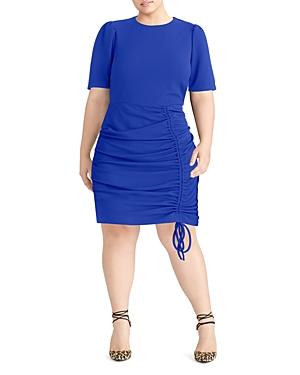 Rachel Roy Plus Uma Drawstring Scuba Dress