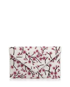 From St Xavier - Medium Cherry Blossom Beaded Clutch