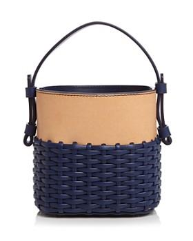 Nico Giani - Small Adenia Woven Leather Handbag