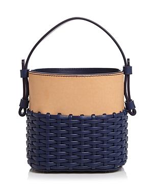 Nico Giani Small Adenia Woven Leather Handbag