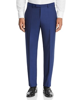 BOSS - Leenon Solid Regular Fit Dress Pants