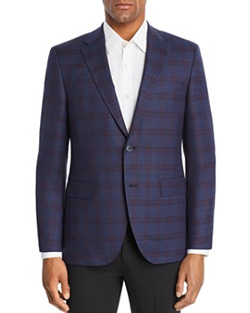 6a63528f154 BOSS Hugo Boss - Jewels Plaid Regular Fit Sport Coat ...