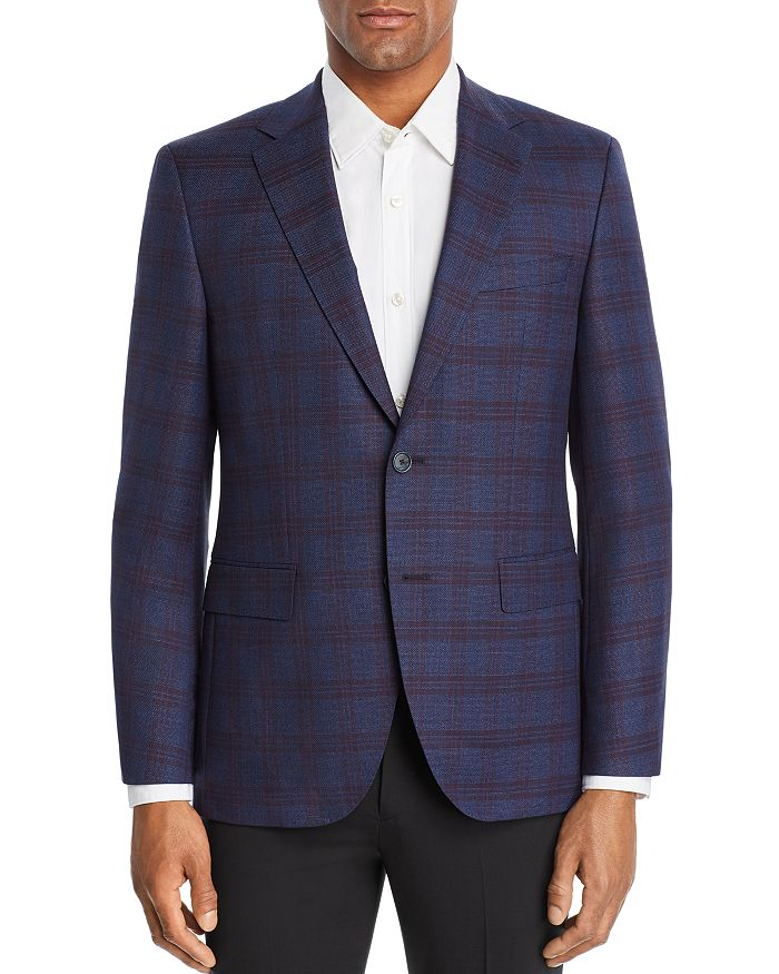 BOSS - Jewels Plaid Regular Fit Sport Coat