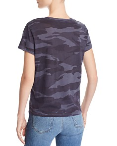 Splendid - Kate V-Neck Camo Tee