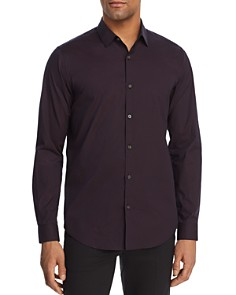 Theory - Murray Geometric-Pattern Regular Fit Shirt
