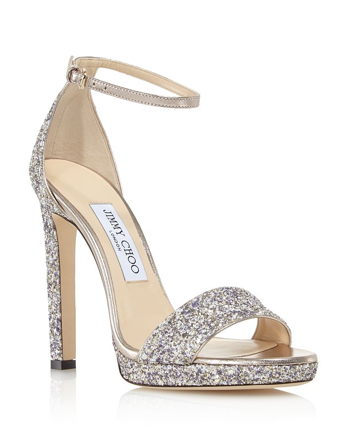 41df2898aafe Jimmy Choo Women s Misty 120 Ankle Strap High-Heel Sandals ...