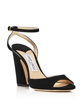 Jimmy Choo - Women's Miranda Chunky Heel Sandals
