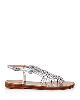 158421abea4a ... Stuart Weitzman - Women s Seaside Netted Thong Sandals