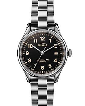 Shinola - The Vinton Black Dial Watch, 38mm