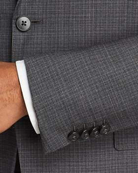 Z Zegna - Mélange Micro-Check Slim Fit Suit - 100% Exclusive