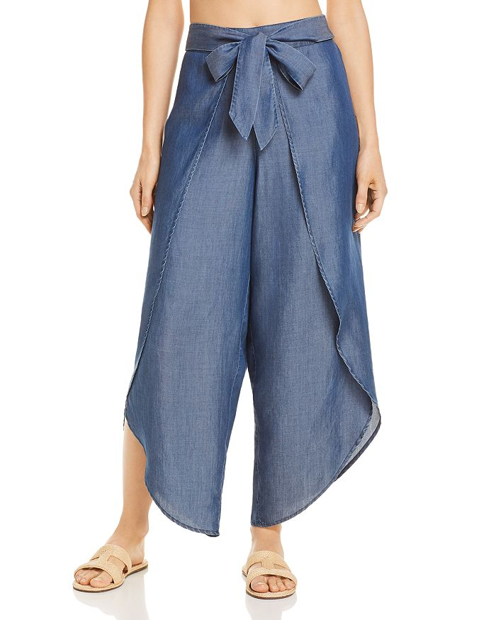 5b5f3a5c8d Tommy Bahama Chambray Beach Swim Cover-Up Pants | Bloomingdale's