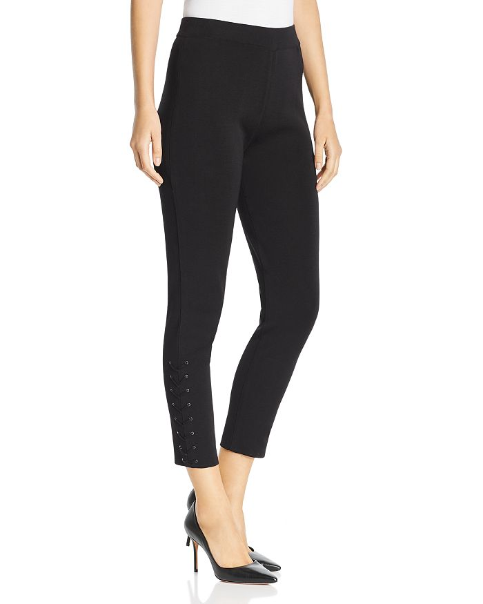 Misook - Lace-Up Detail Pants