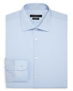 John Varvatos Star USA - Micro-Stripe Regular Fit Dress Shirt