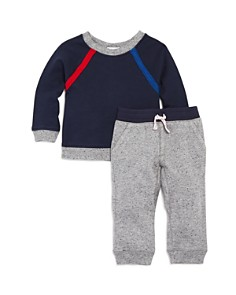 Splendid - Boys' French Terry Raglan Sweatshirt & Jogger Pants Set - Baby