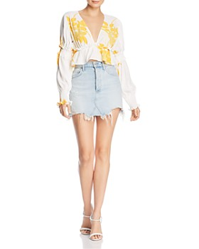 S/W/F - High Tide Floral Top - 100% Exclusive